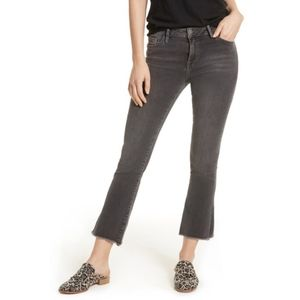 Free People crop straight leg jeans, size 24 - NWT
